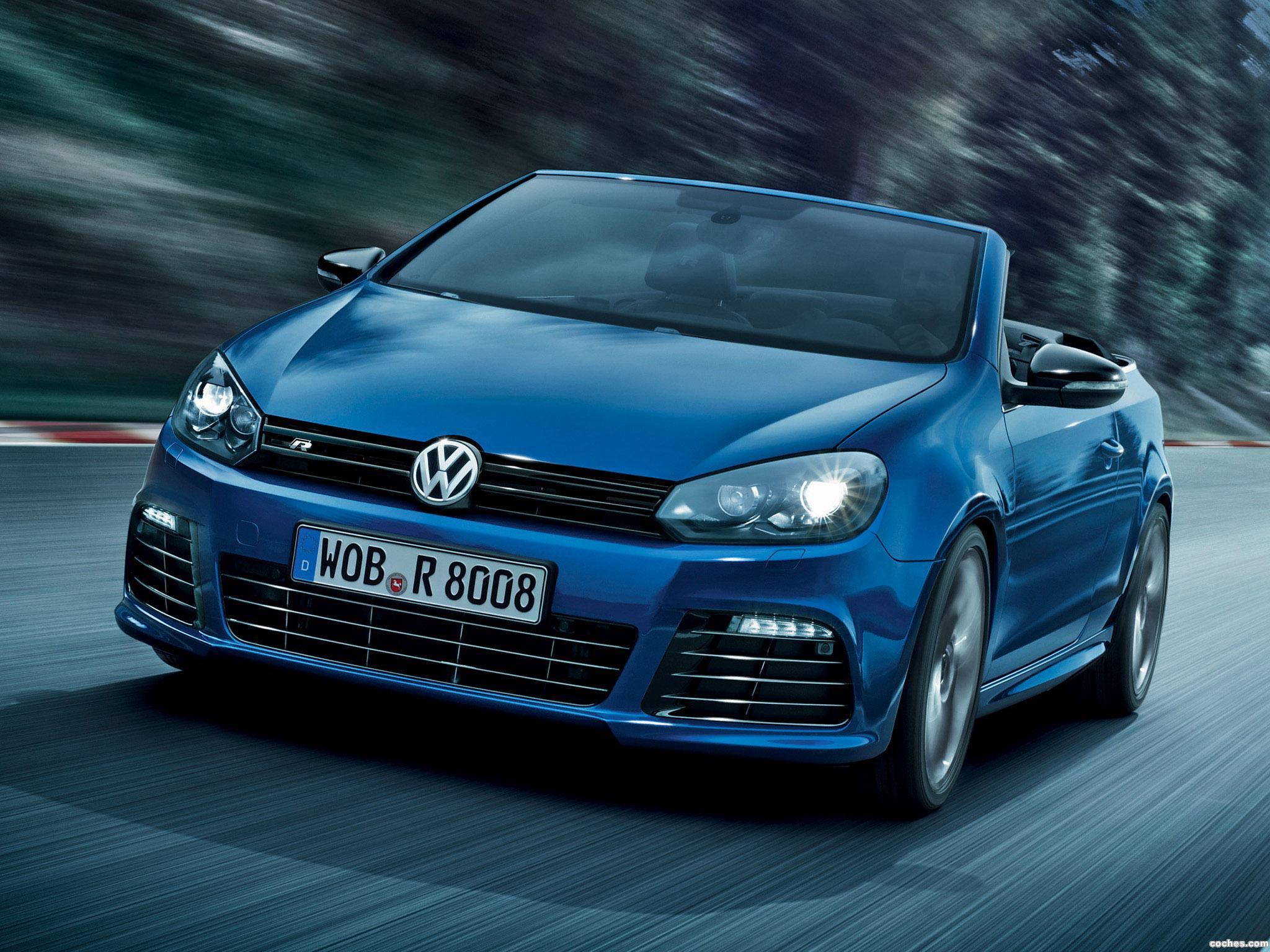Foto 0 de Volkswagen Golf VI R Cabrio 2013