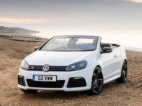 Ver foto 5 de Volkswagen Golf R Cabriolet UK 2013