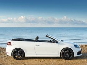 Ver foto 2 de Volkswagen Golf R Cabriolet UK 2013