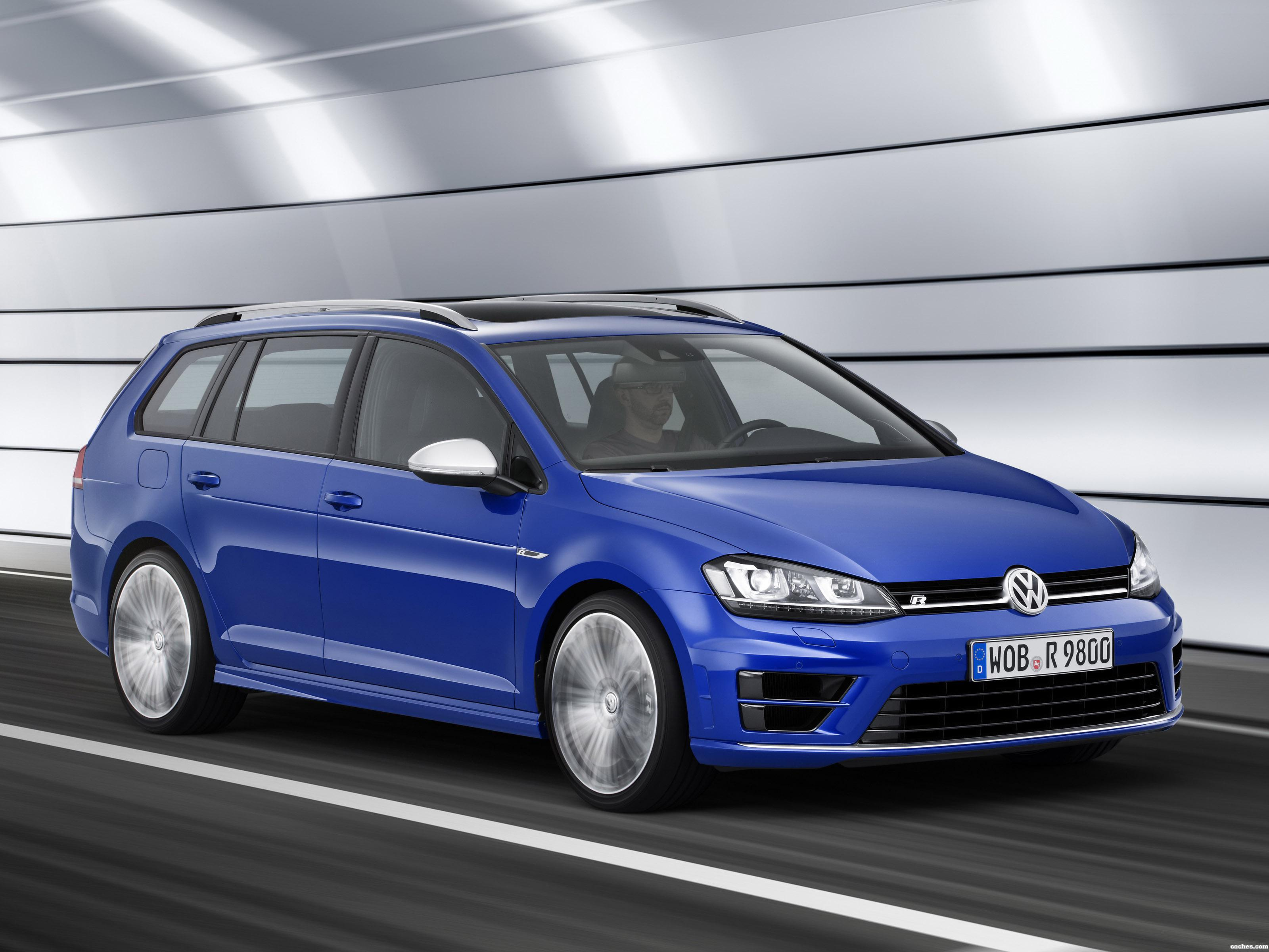 Foto 0 de Volkswagen Golf R Estate 2015