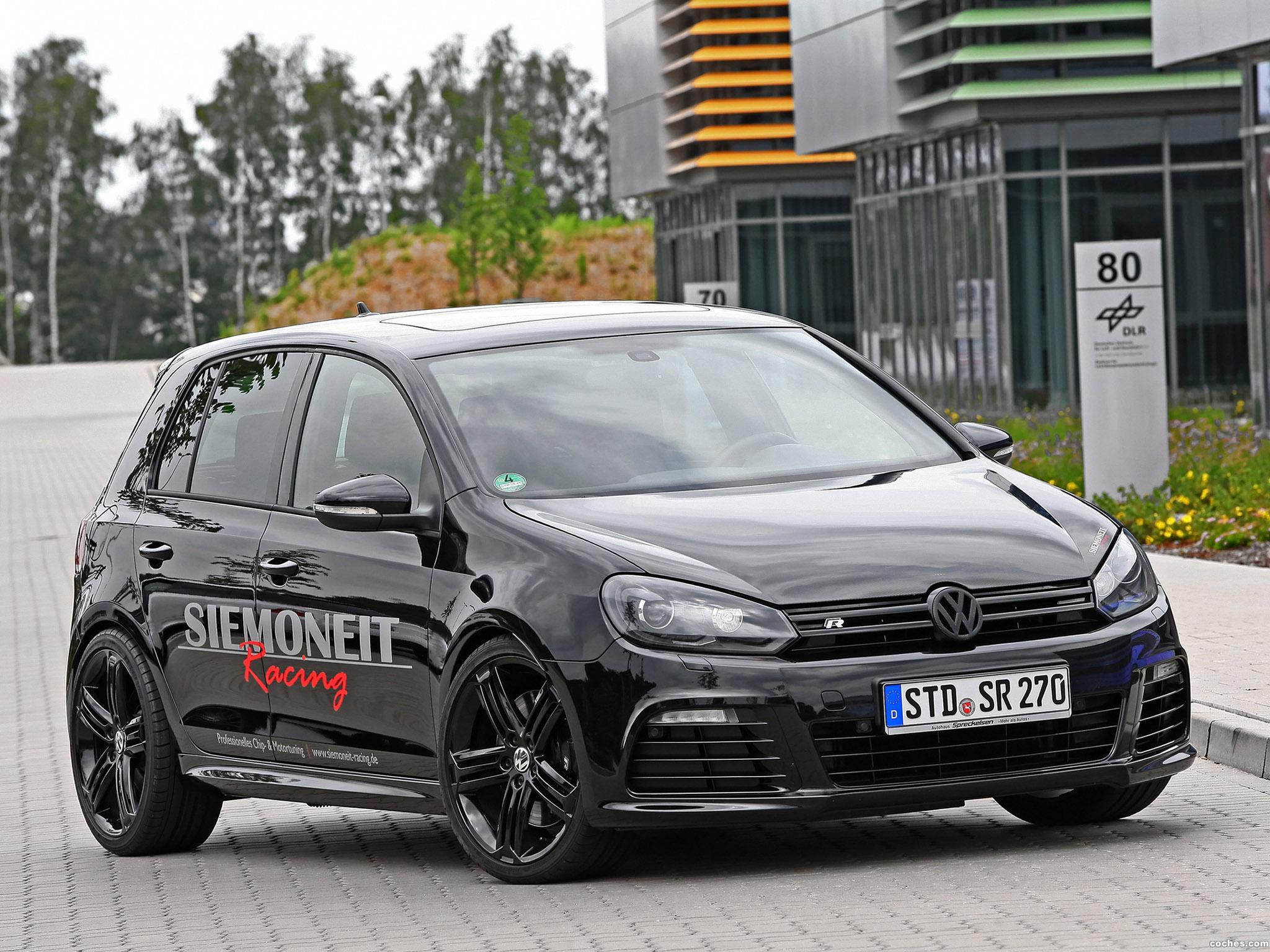 Foto 0 de Volkswagen Siemoneit Golf R Racing The Black Pearl 2011