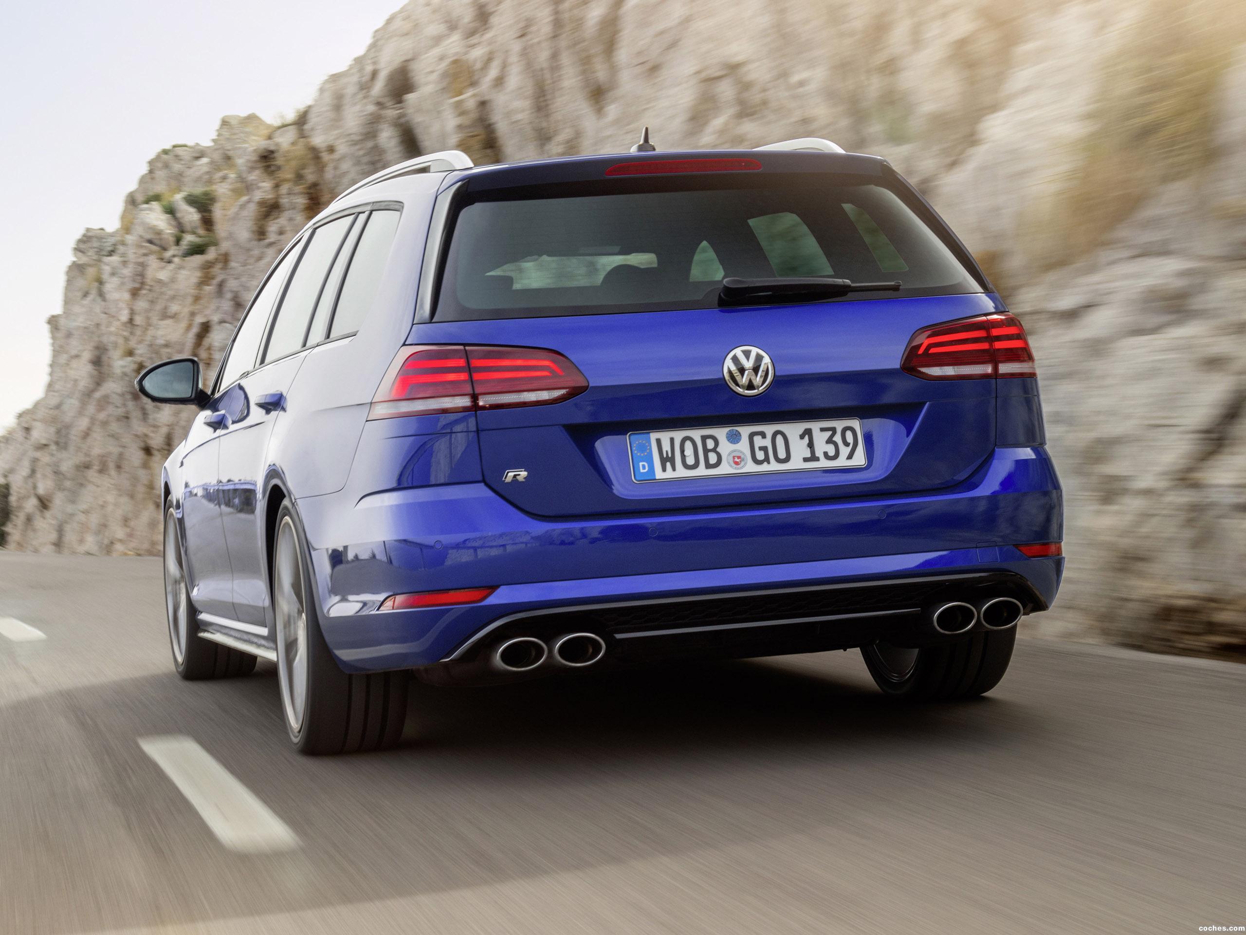 Foto 13 de Volkswagen Golf R Variant  2017