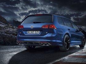 Ver foto 3 de Volkswagen Golf R Wagon Wolfsburg Edition 2015