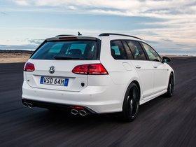 Ver foto 8 de Volkswagen Golf R Wagon Wolfsburg Edition 2015