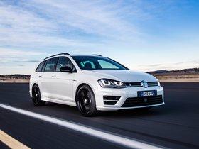 Ver foto 4 de Volkswagen Golf R Wagon Wolfsburg Edition 2015
