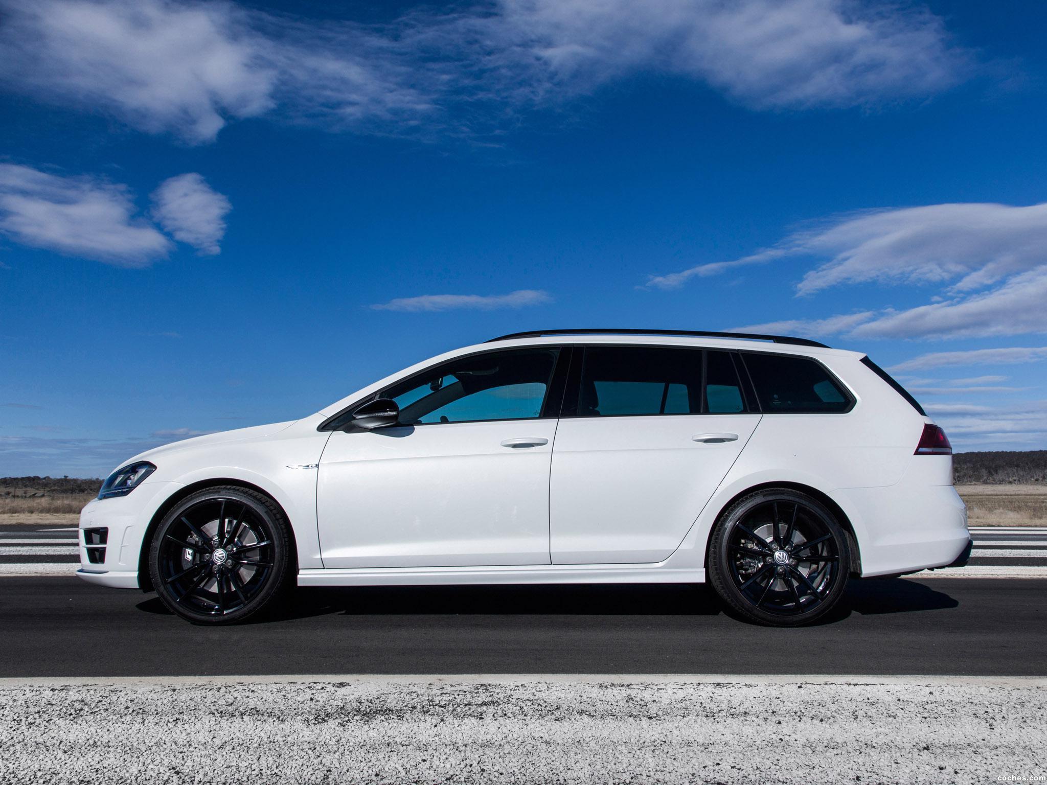 Foto 10 de Volkswagen Golf R Wagon Wolfsburg Edition 2015