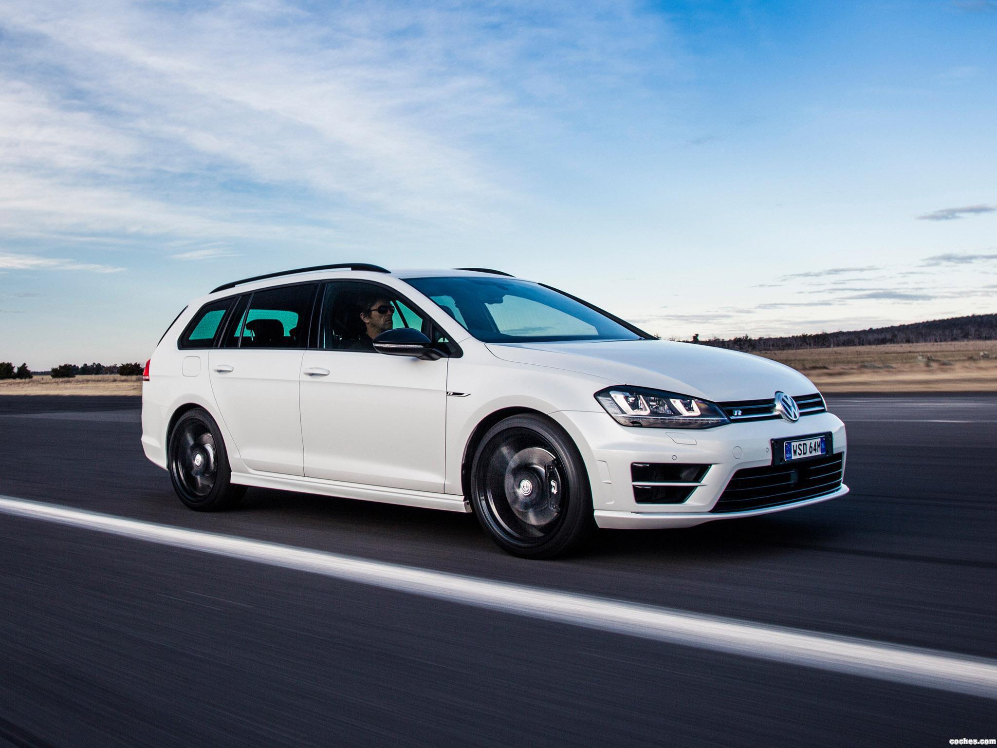 Foto 9 de Volkswagen Golf R Wagon Wolfsburg Edition 2015