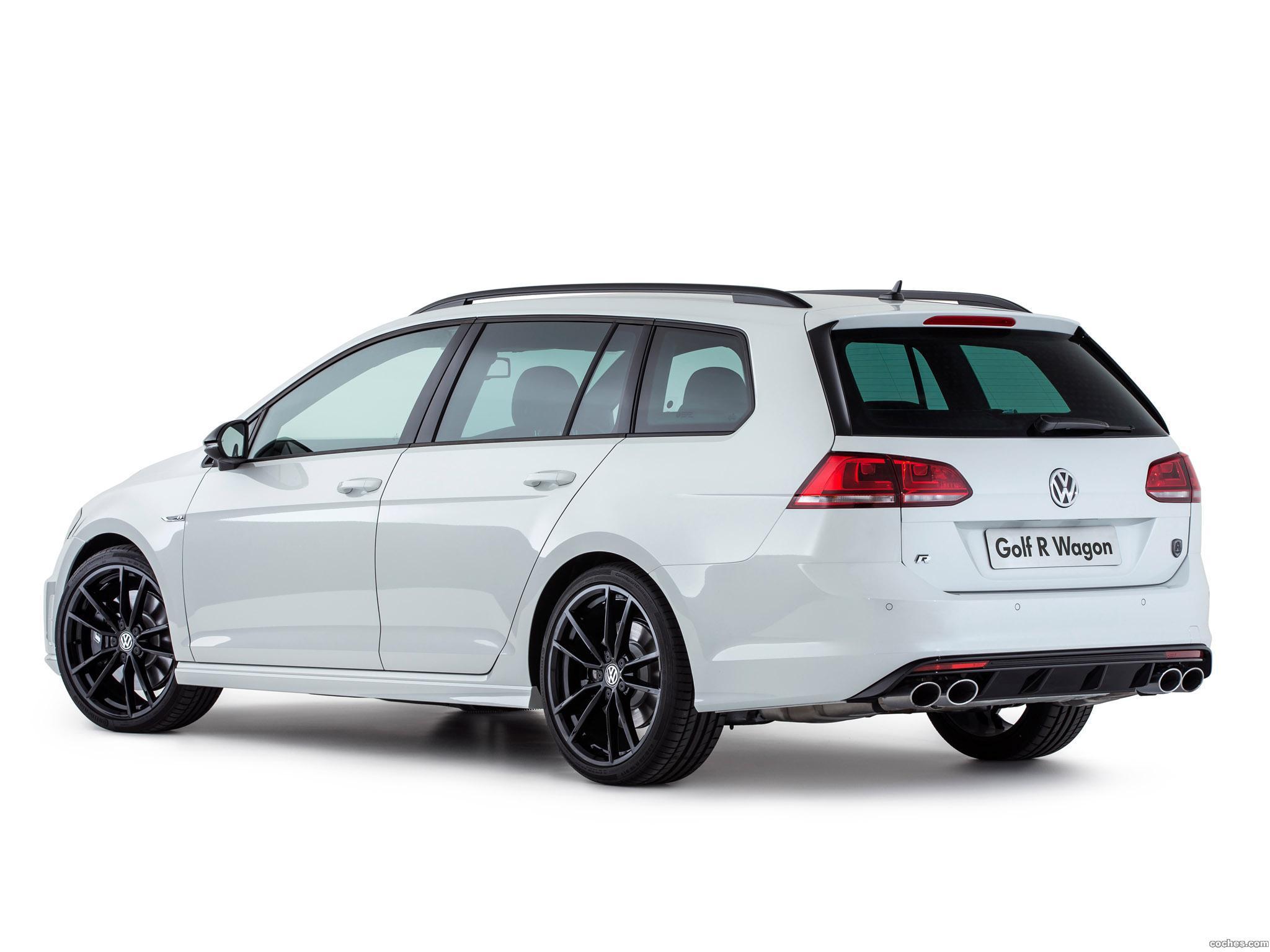 Foto 5 de Volkswagen Golf R Wagon Wolfsburg Edition 2015