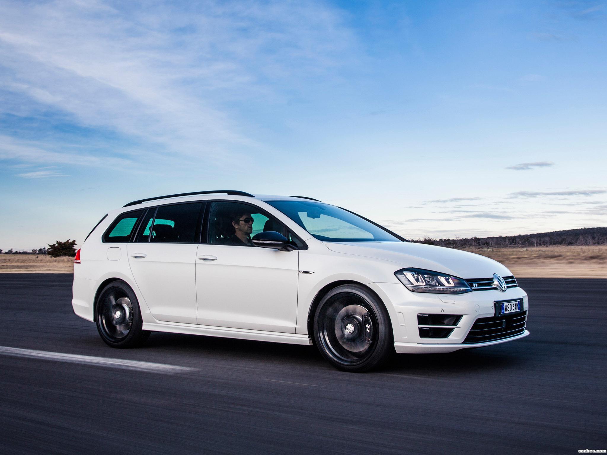 Foto 14 de Volkswagen Golf R Wagon Wolfsburg Edition 2015