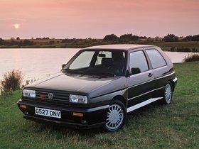 Fotos de Volkswagen Golf Rallye G60 1989