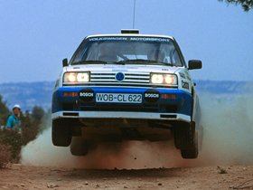Fotos de Volkswagen Golf Rallye G60 Rally Car 1990