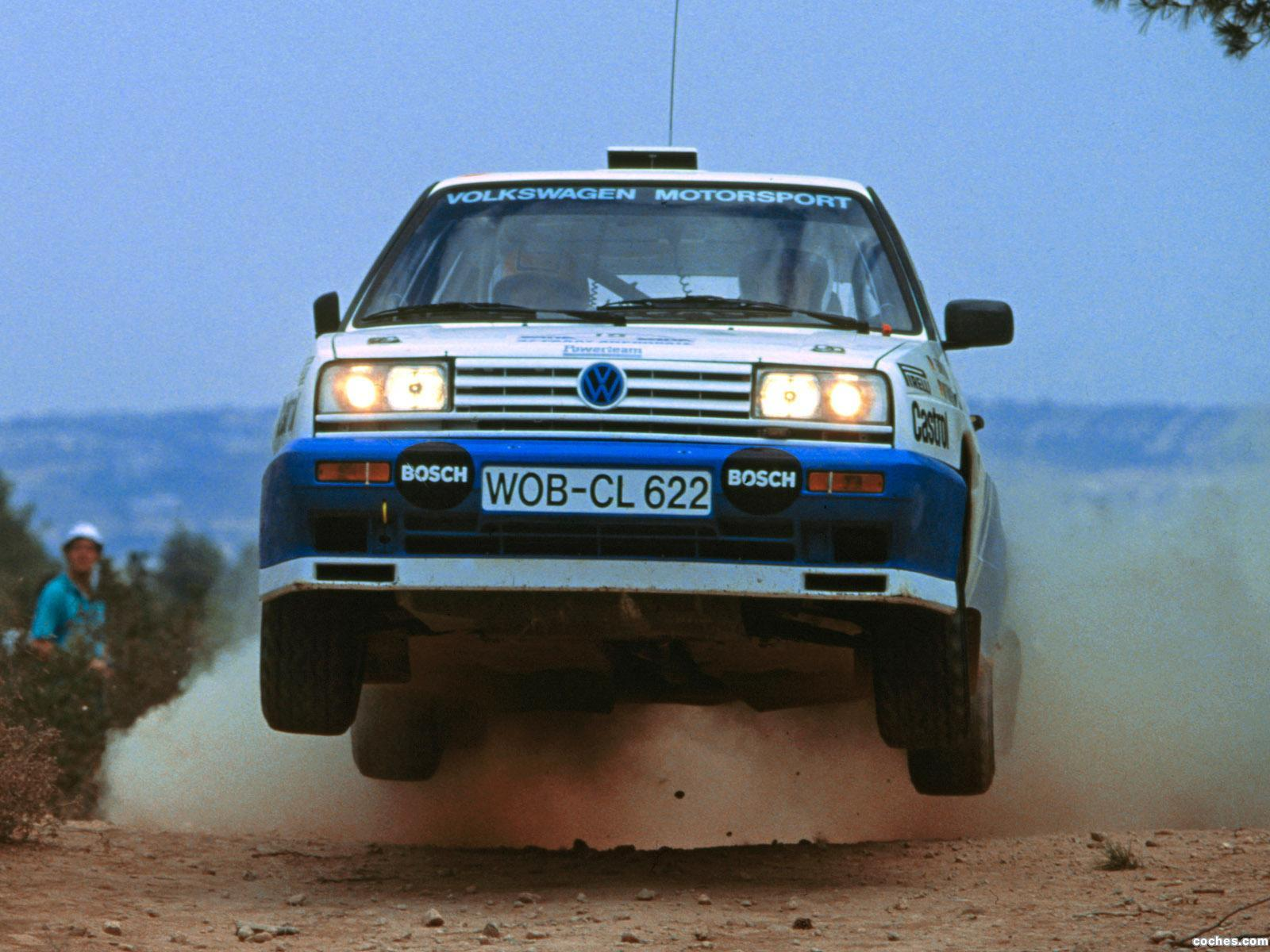 Foto 0 de Volkswagen Golf Rallye G60 Rally Car 1990