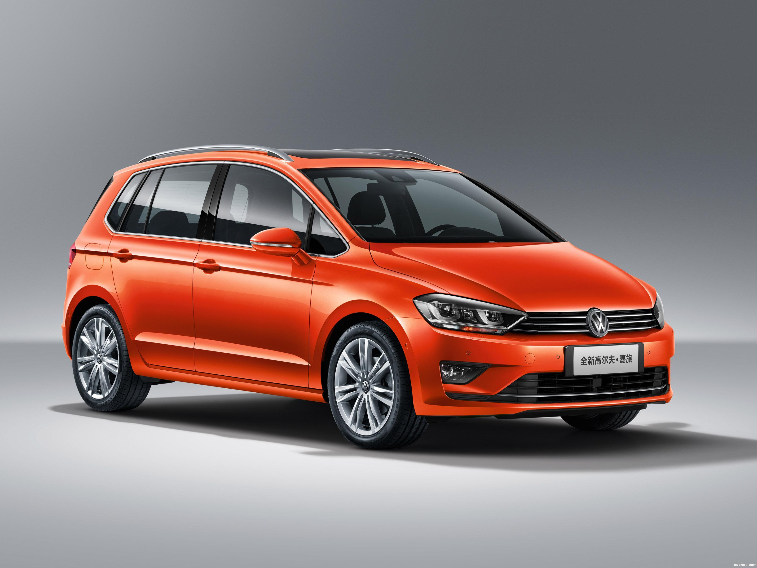 Foto 0 de Volkswagen Golf Sportsvan China 2016