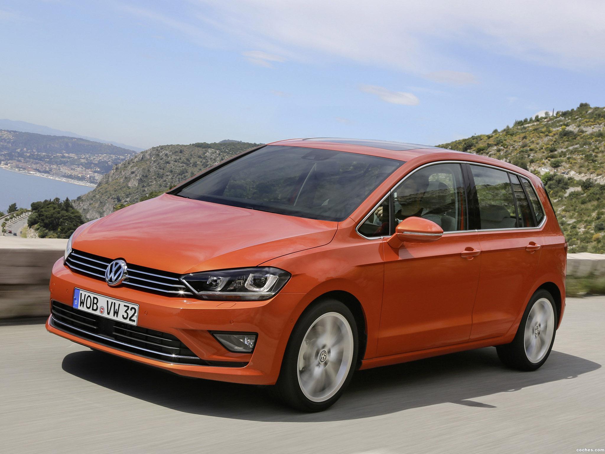 Foto 0 de Volkswagen Golf Sportsvan TSI 2014