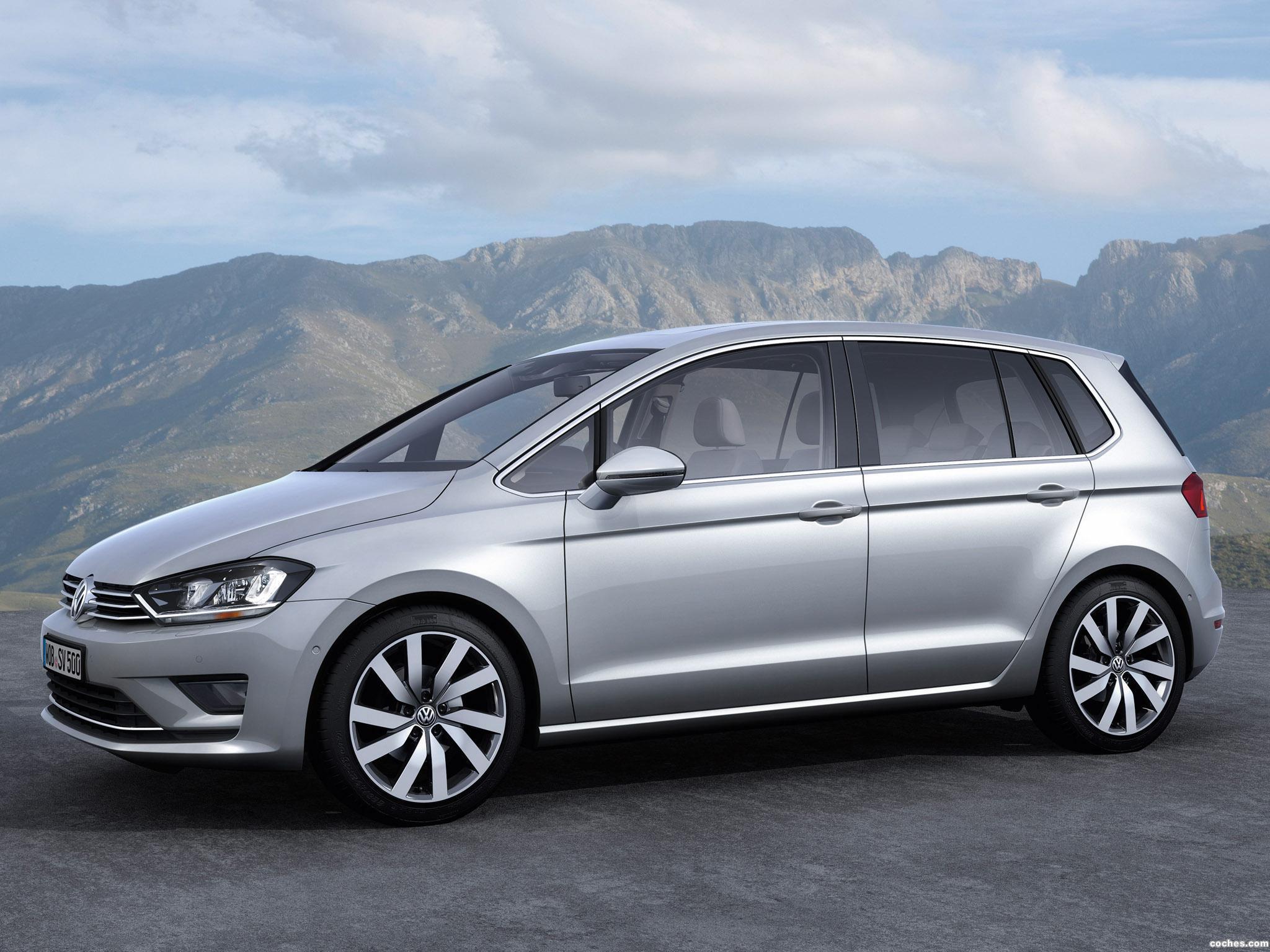 Foto 4 de Volkswagen Golf Sportvan Concept 2013