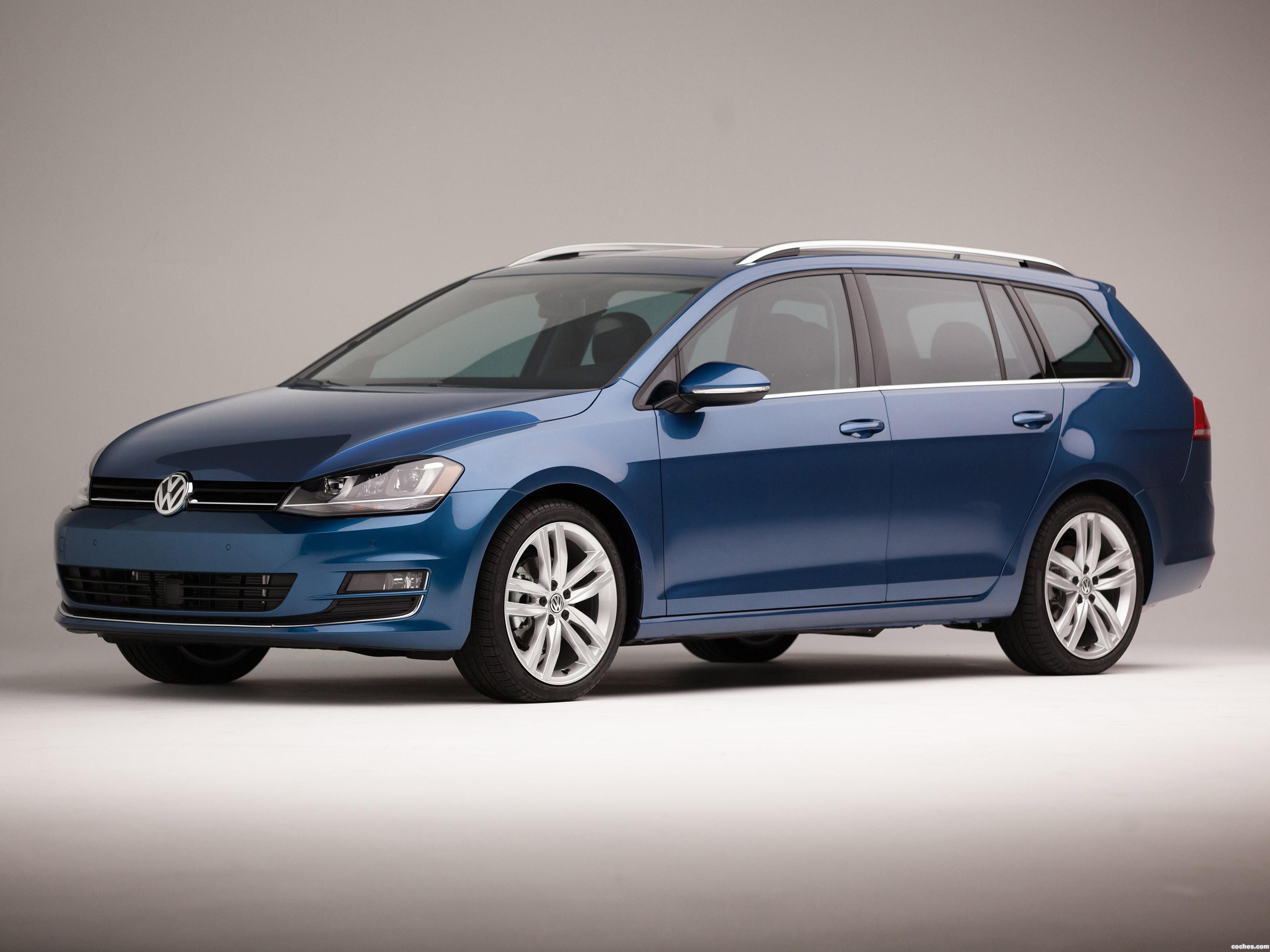 Foto 0 de Volkswagen Golf Sportwagen USA 2015