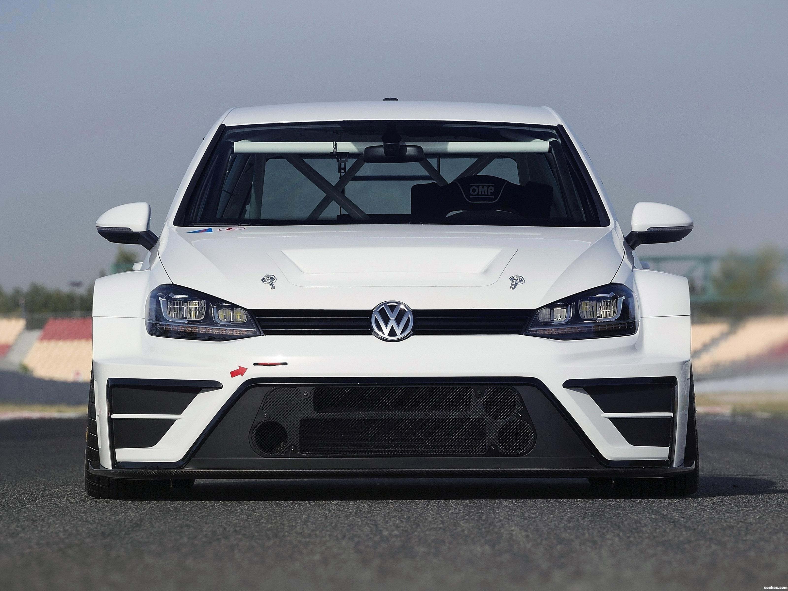 Foto 0 de Volkswagen Golf TCR Concept  2015
