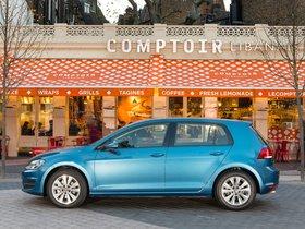 Ver foto 9 de Volkswagen Golf 7 5 puertas TDI Bluemotion UK 2013