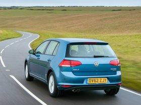 Ver foto 2 de Volkswagen Golf 7 5 puertas TDI Bluemotion UK 2013