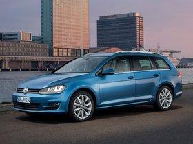 Ver foto 4 de Volkswagen Golf 7 Variant TDI BlueMotion  2013