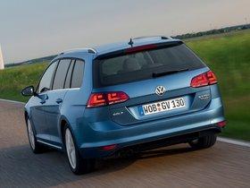 Ver foto 3 de Volkswagen Golf 7 Variant TDI BlueMotion  2013