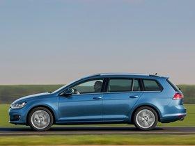 Ver foto 2 de Volkswagen Golf 7 Variant TDI BlueMotion  2013