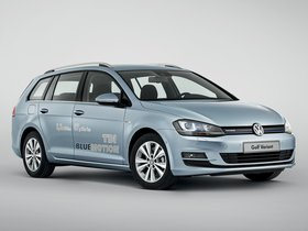 Ver foto 1 de Volkswagen Golf Variant TDI BlueMotion 2013