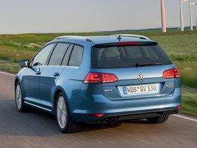 Ver foto 9 de Volkswagen Golf 7 Variant TDI BlueMotion  2013