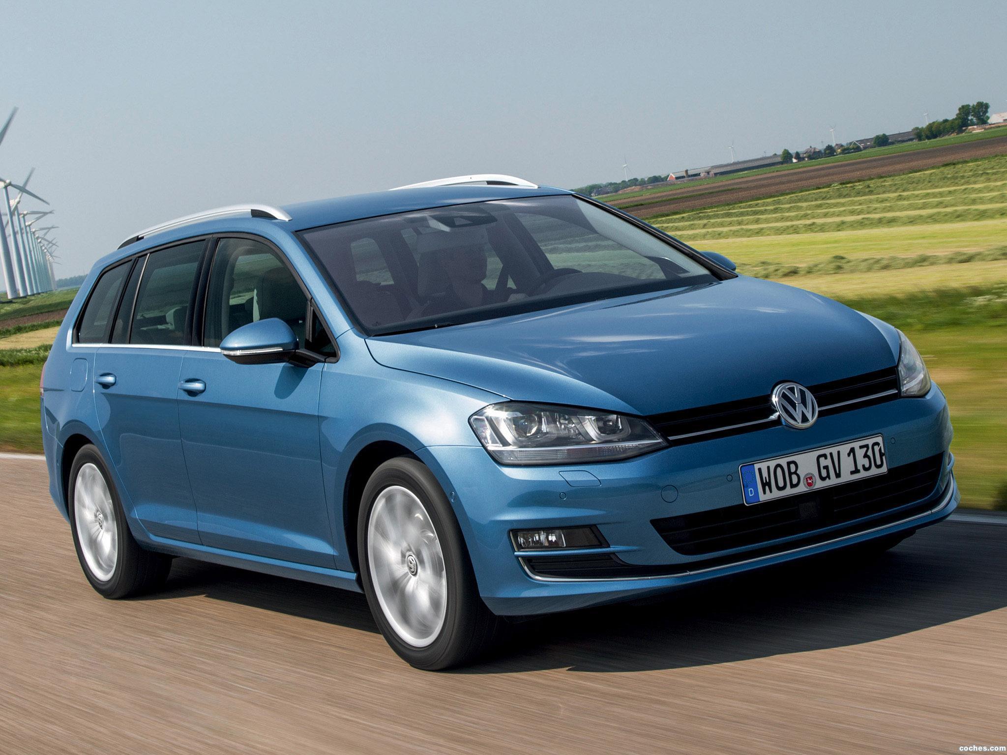 Foto 0 de Volkswagen Golf 7 Variant TDI BlueMotion  2013