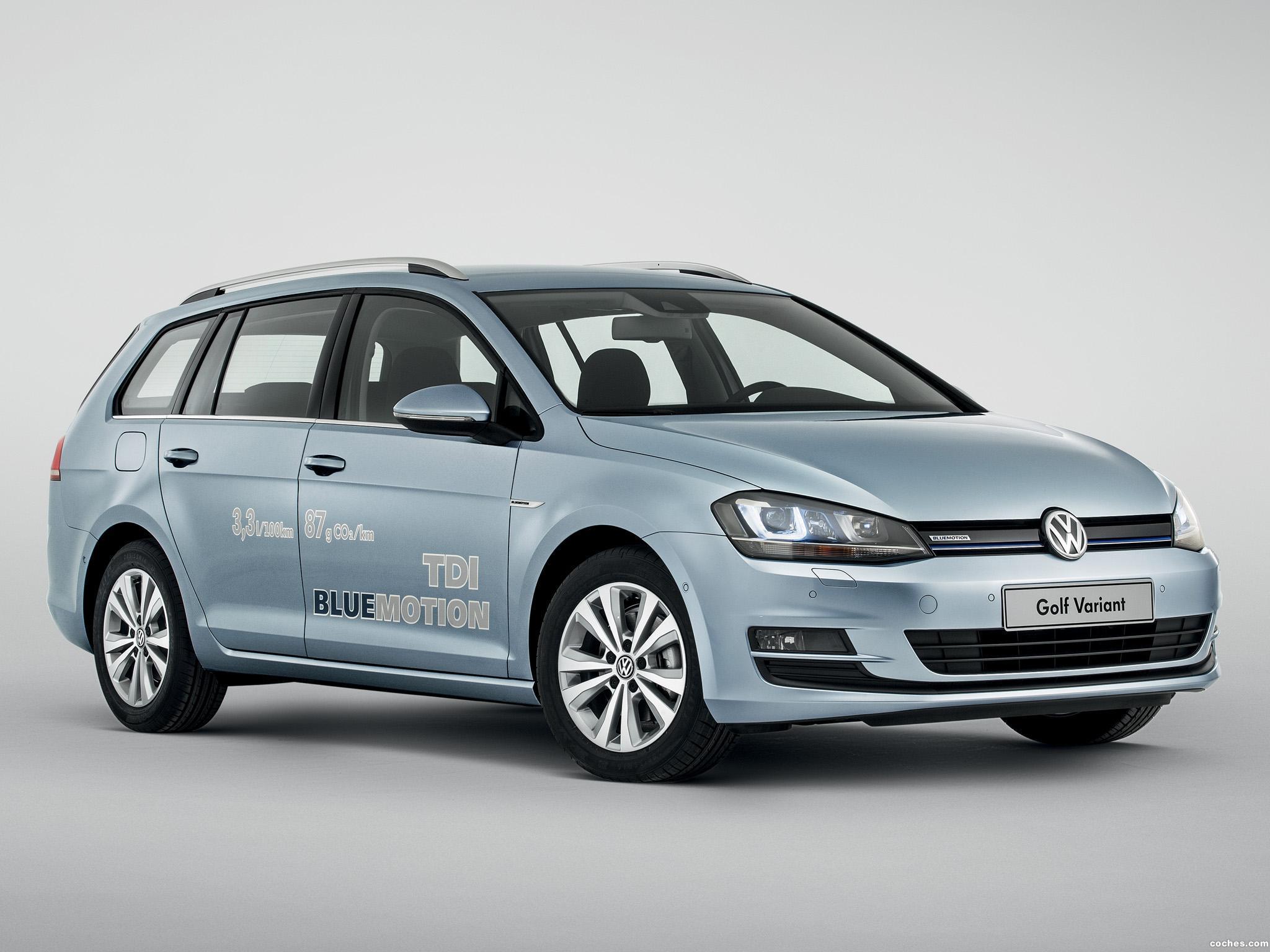 Foto 0 de Volkswagen Golf Variant TDI BlueMotion 2013