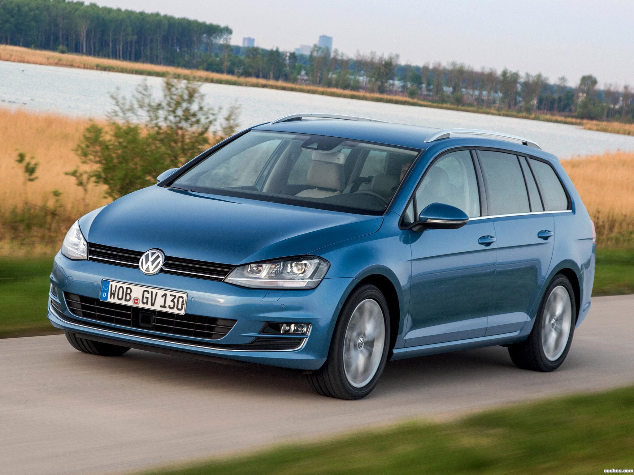 Foto 9 de Volkswagen Golf 7 Variant TDI BlueMotion  2013