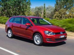 Ver foto 10 de Volkswagen Golf TDI Bluemotion Wagon Australia 2014