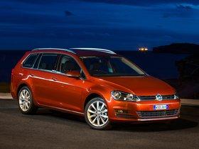 Ver foto 9 de Volkswagen Golf TDI Bluemotion Wagon Australia 2014