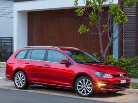 Ver foto 6 de Volkswagen Golf TDI Bluemotion Wagon Australia 2014