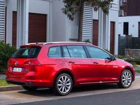 Ver foto 5 de Volkswagen Golf TDI Bluemotion Wagon Australia 2014