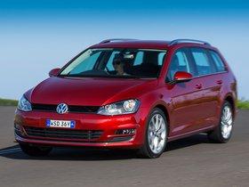 Ver foto 4 de Volkswagen Golf TDI Bluemotion Wagon Australia 2014