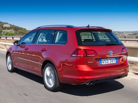 Ver foto 2 de Volkswagen Golf TDI Bluemotion Wagon Australia 2014