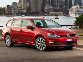 Fotos de Volkswagen Golf TDI Bluemotion Wagon Australia 2014