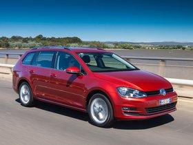 Ver foto 13 de Volkswagen Golf TDI Bluemotion Wagon Australia 2014