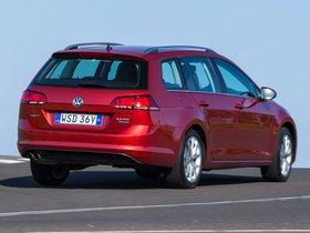 Ver foto 12 de Volkswagen Golf TDI Bluemotion Wagon Australia 2014