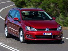 Ver foto 11 de Volkswagen Golf TDI Bluemotion Wagon Australia 2014