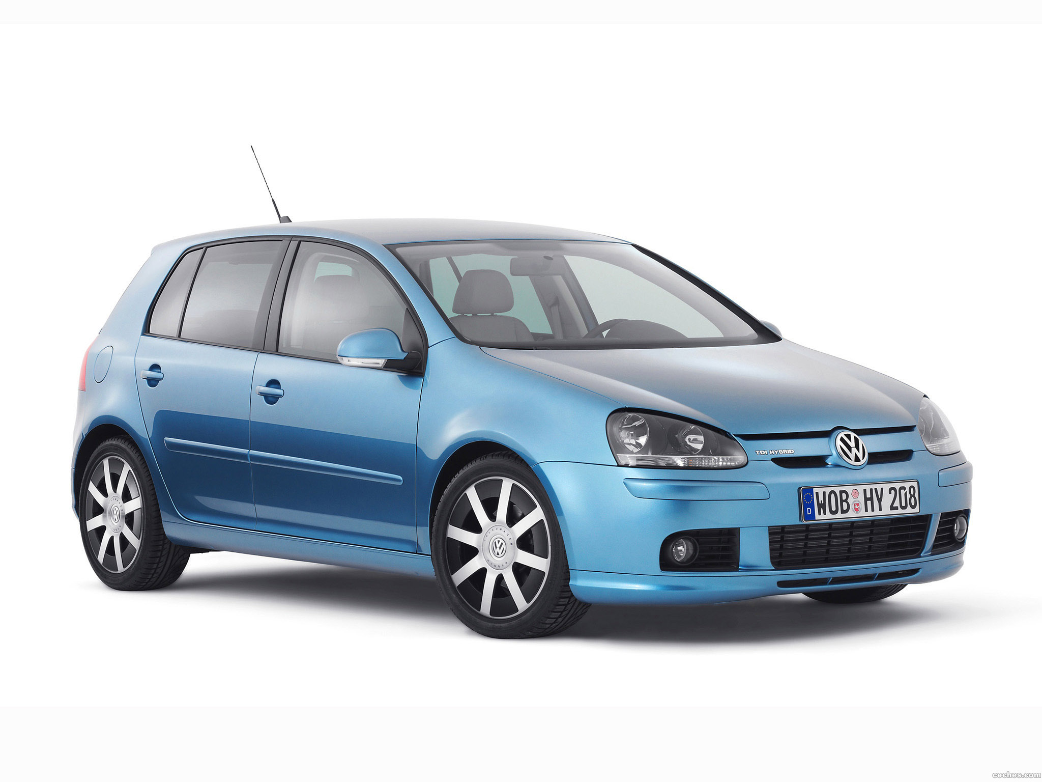 Foto 0 de Volkswagen Golf TDI Hybrid Concept 2008
