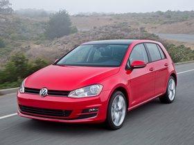 Fotos de Volkswagen Golf TSI 5 puertas USA 2014