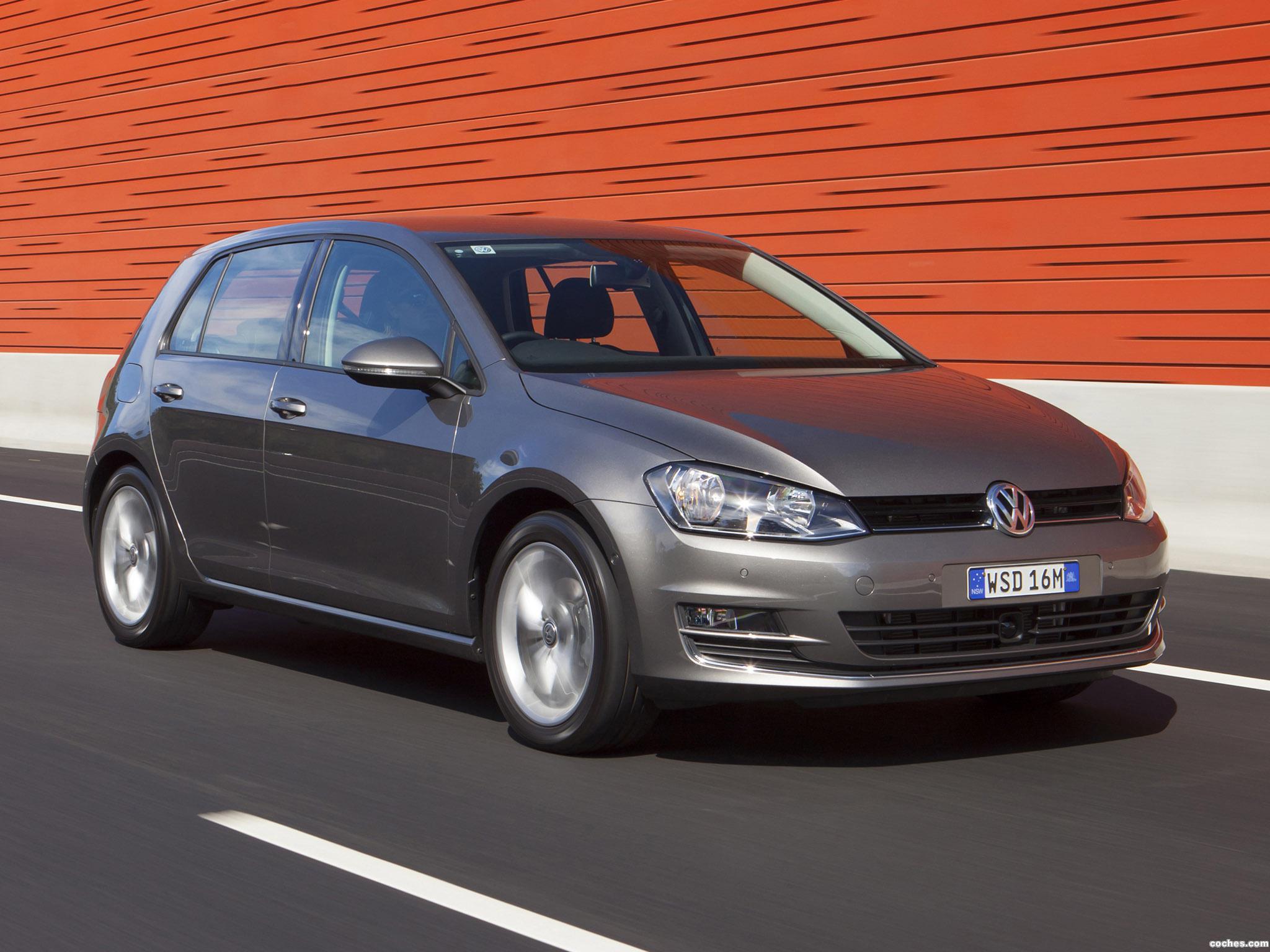 Foto 20 de Volkswagen Golf TSI BlueMotion 5 Puertas Australia 2013