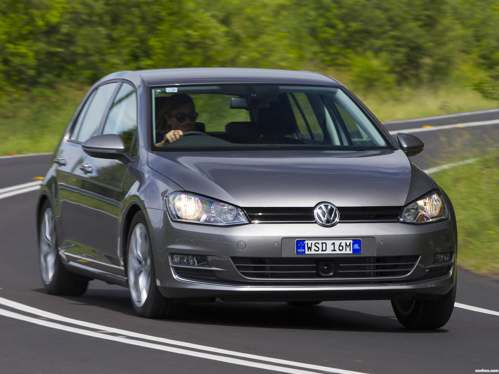 Foto 19 de Volkswagen Golf TSI BlueMotion 5 Puertas Australia 2013