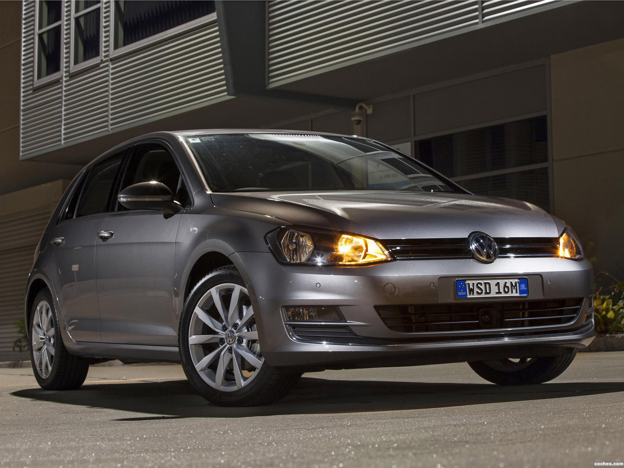 Foto 10 de Volkswagen Golf TSI BlueMotion 5 Puertas Australia 2013