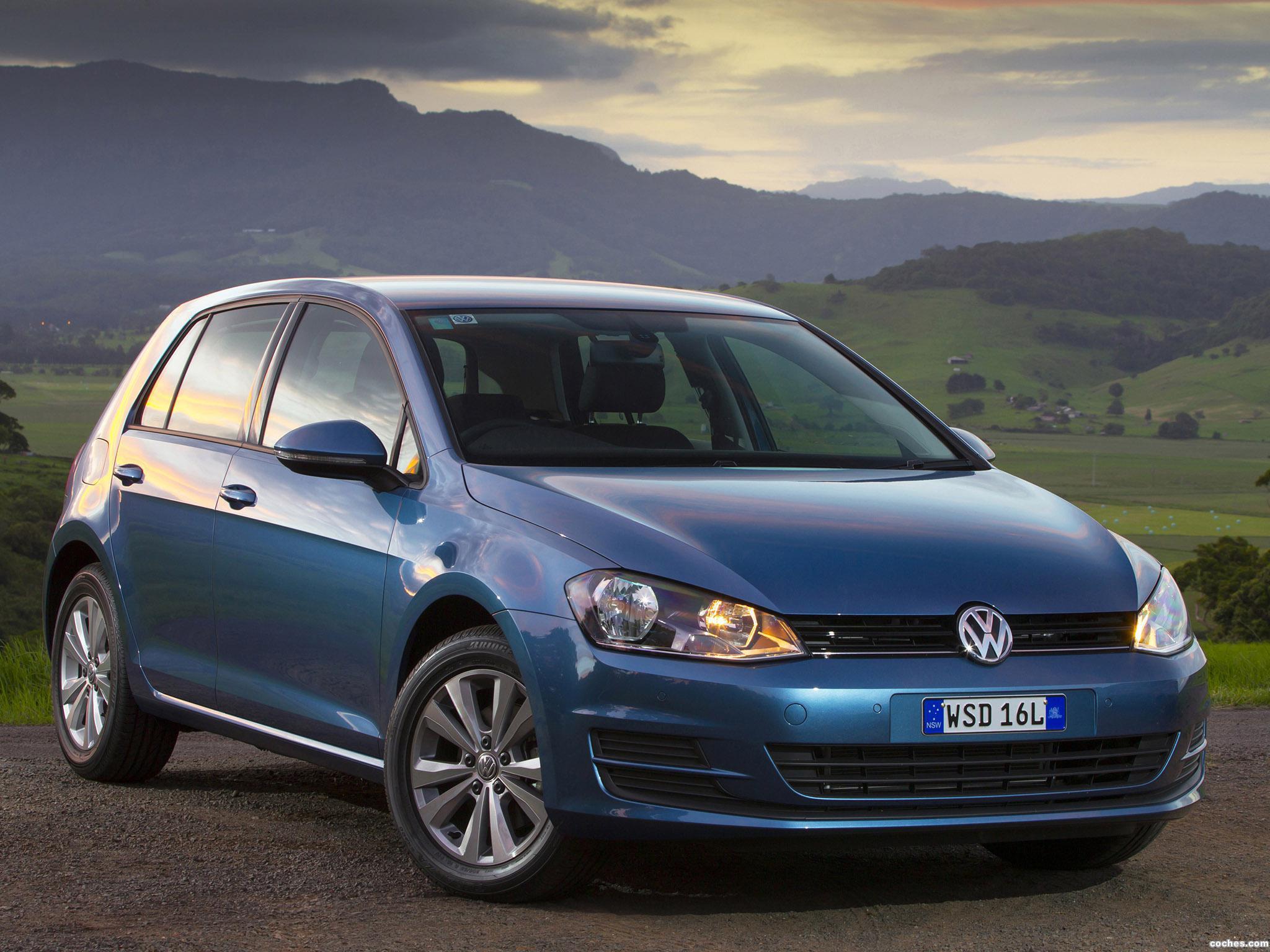 Foto 5 de Volkswagen Golf TSI BlueMotion 5 Puertas Australia 2013