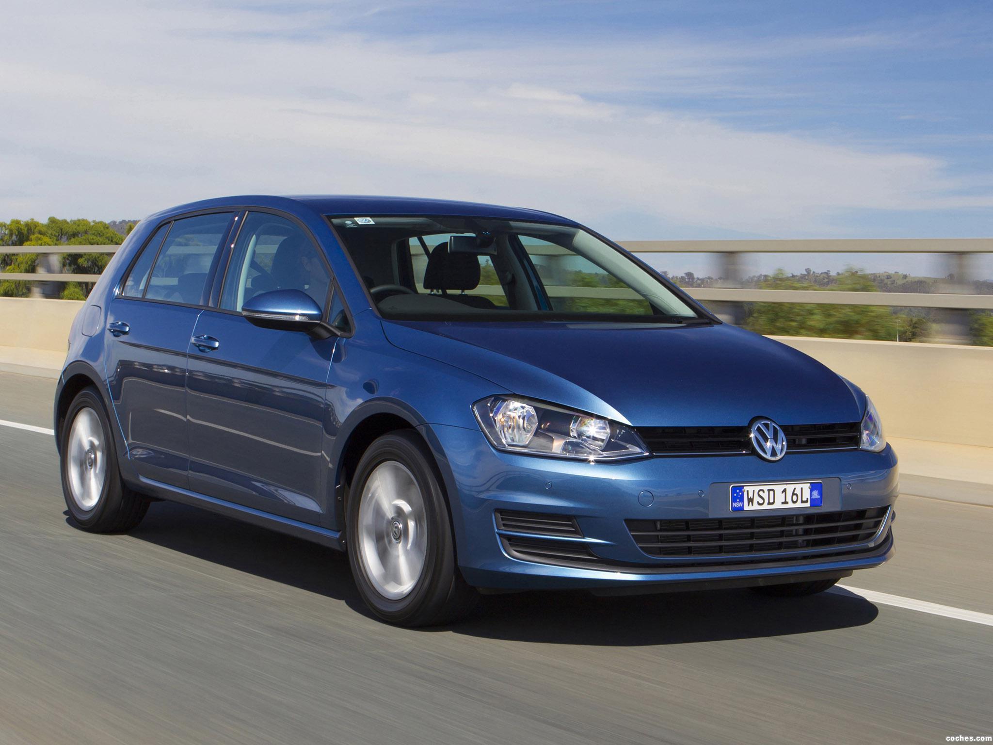 Foto 3 de Volkswagen Golf TSI BlueMotion 5 Puertas Australia 2013