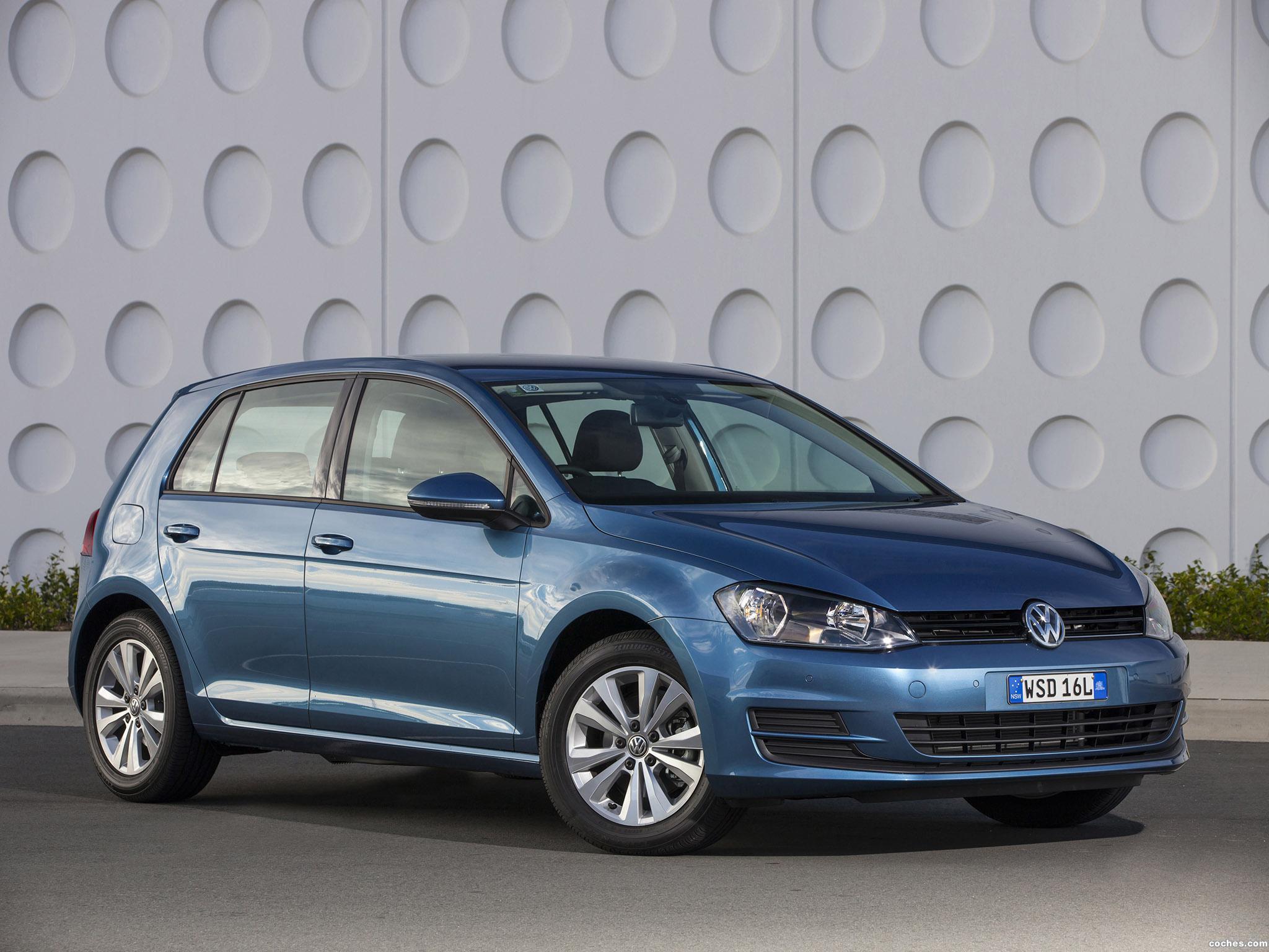 Foto 23 de Volkswagen Golf TSI BlueMotion 5 Puertas Australia 2013