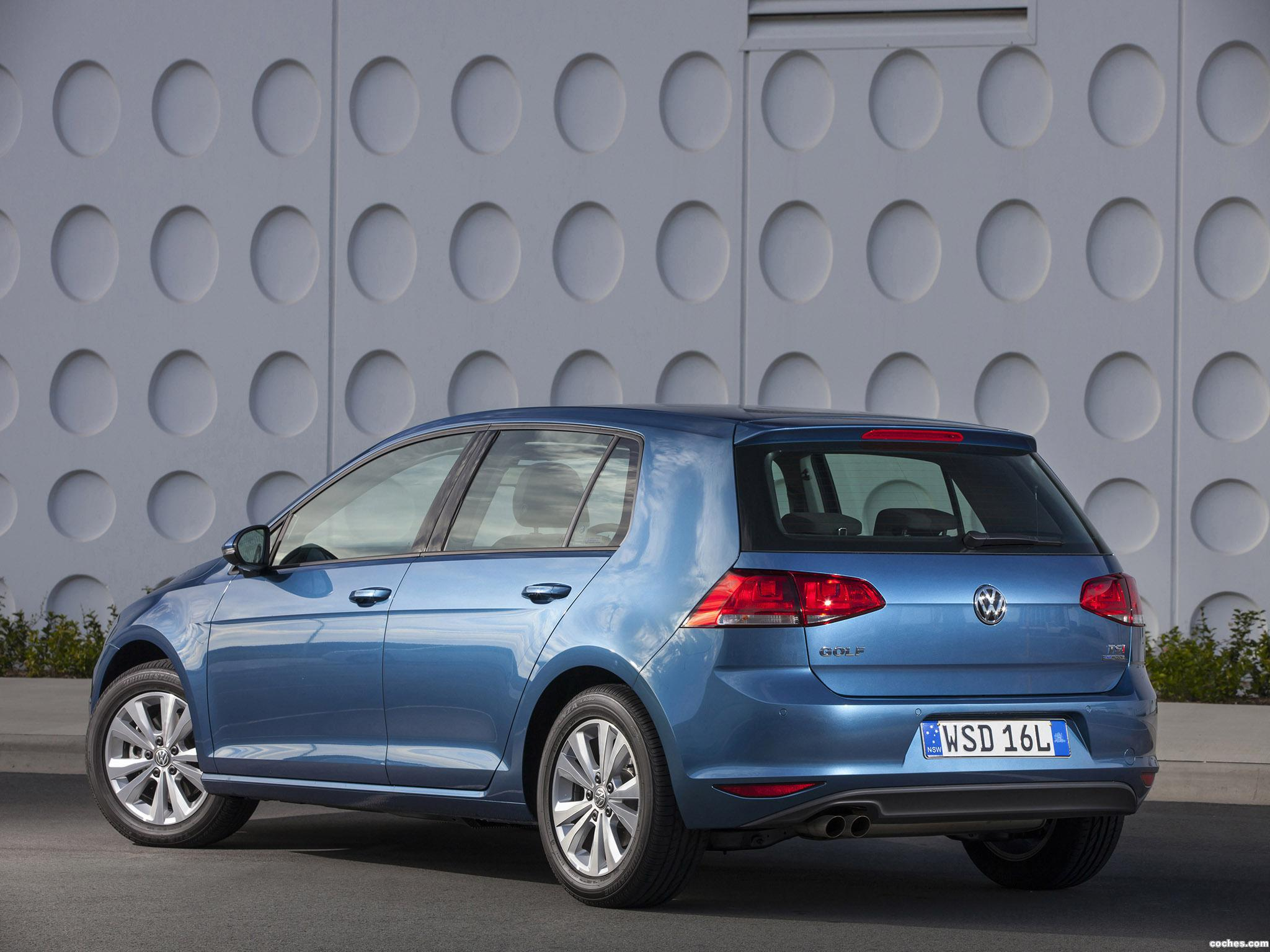 Foto 22 de Volkswagen Golf TSI BlueMotion 5 Puertas Australia 2013